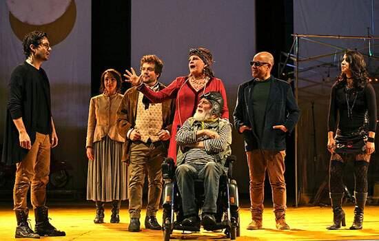 Cena de Teatro 2015 terá encenação de 1 Gaivota – É Impossível Viver Sem Teatro