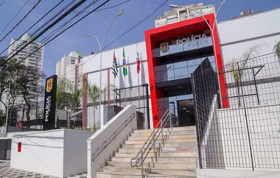 Governo de São Paulo inaugura novas instalações do 8º Distrito Policial da Capital