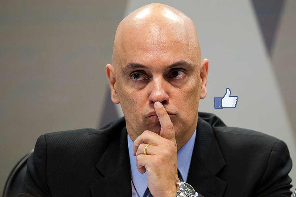 Alexandre de Moraes determinou o bloqueio dos bolsonaristas