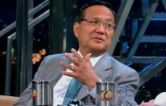 Anthony Wong, em entrevista ao Programa do Jô em 2012