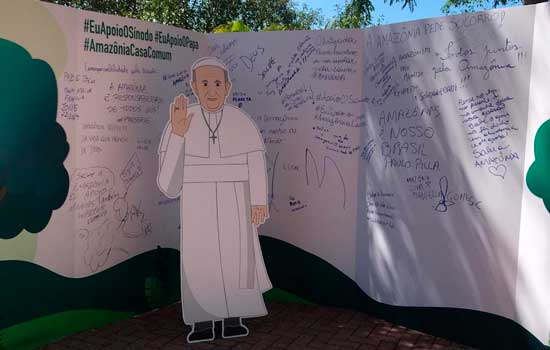 Em Aparecida, católicos se mobilizam pelo Sínodo da Amazônia