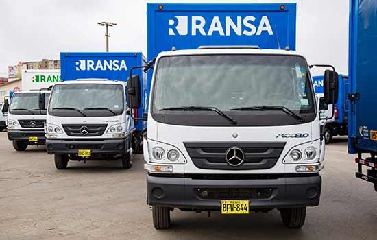 Caminhões Mercedes-Benz Accelo da peruana Ransa