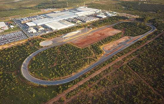 Complexo Industrial da Iveco em Sete Lagoas/MG