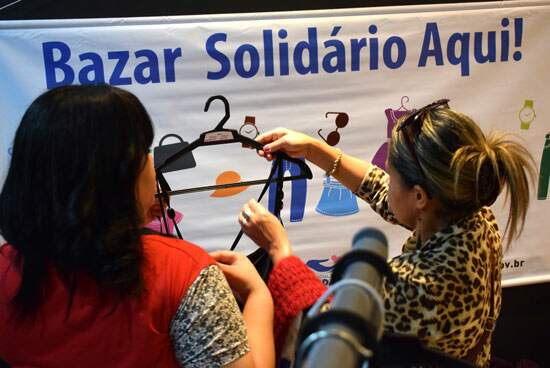 855c93c3cfb8 FSS de Diadema realiza Bazar Beneficente