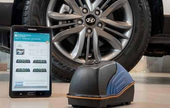 CAOA oferece tecnologia de diagnóstico para pneus