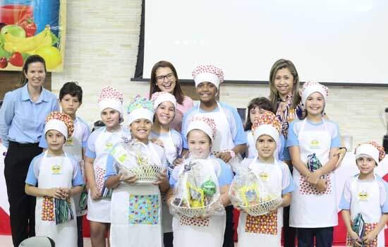 Colégio Adventista incentiva alimentação saudável com projeto Chef Kids