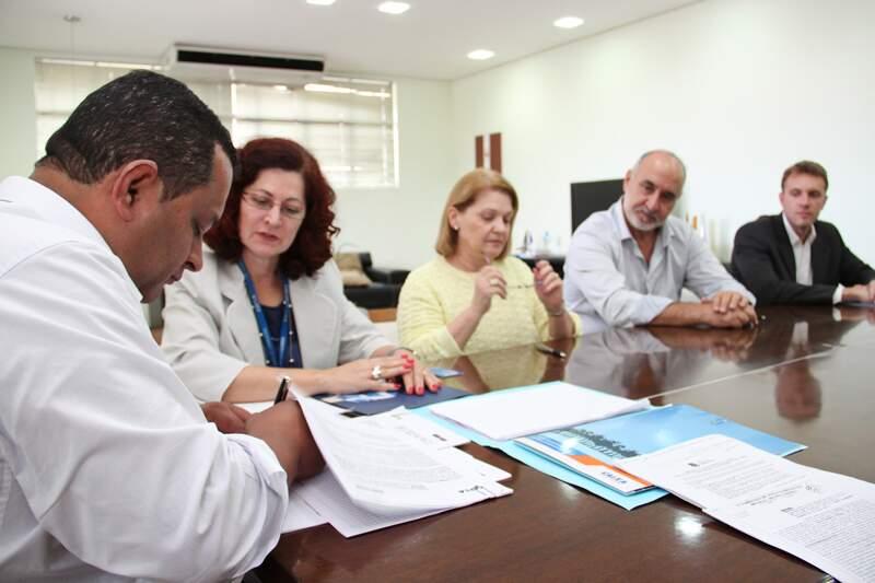 Saulo Benevides formaliza ação