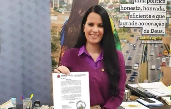 Deputada Leticia Aguiar