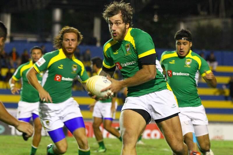 Bruno Daniel recebe amistoso de rugby entre Brasil e México