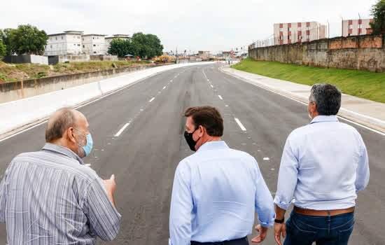 Em São Bernardo, bairro Jordanópolis ganha novo acesso ao Corredor ABD