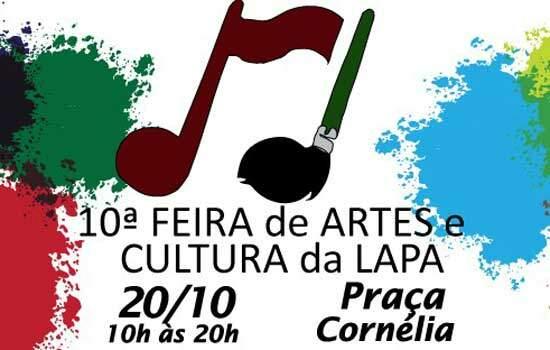 """""""FEIRA DE ARTES DA LAPA"""" CHEGA EM SUA 10ª EDIÇÃO"""