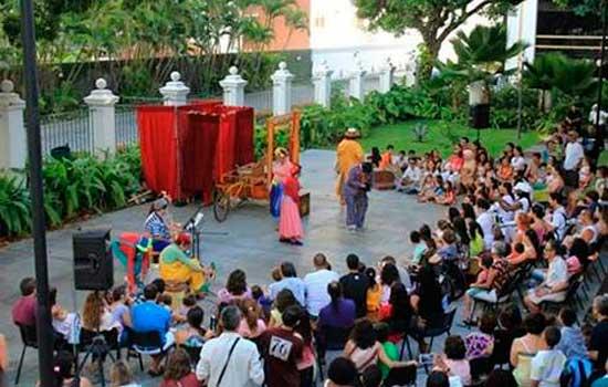 Circo-Teatro na Estrada- Teatro Griô. Grupo foi contemplado em edital da Funarte
