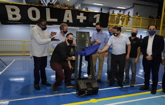 Santo André entrega Ginásio Sacadura Cabral após completa modernização