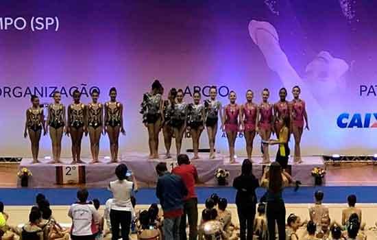 Ginástica Rítmica de São Caetano conquista ótimos resultados no XXIV Torneio Nacional