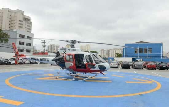 Em São Bernardo, heliponto do COI será base para operações integradas da Polícias Civil e Militar