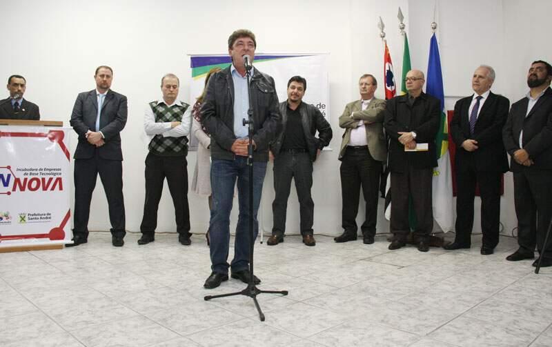 Prefeito Carlos Grana destaca entusiasmo com retomada da InNova
