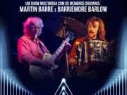 Celebrando 50 anos de Jethro Tull, com membros originais Martin Barre, Barriemore Barlow