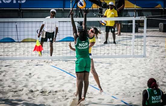 Jogos Mundiais de praia: Brasil estreia com vitória no 4x4 feminino