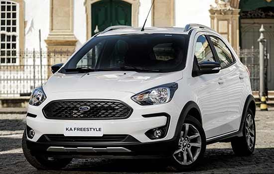 O Ka é um dos modelos em destaque no evento, que vai oferecer ofertas e condições especiais para todos os veículos da marca