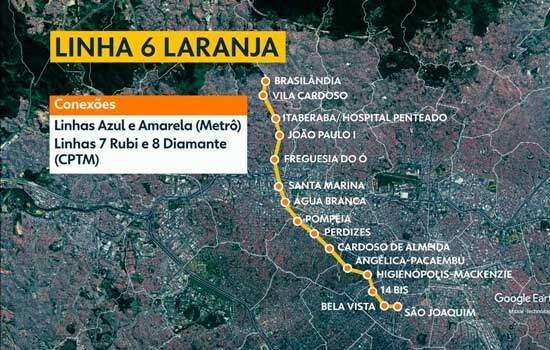 Estado de SP tem até 9 de fevereiro para apresentar cronograma da Linha 6-Laranja