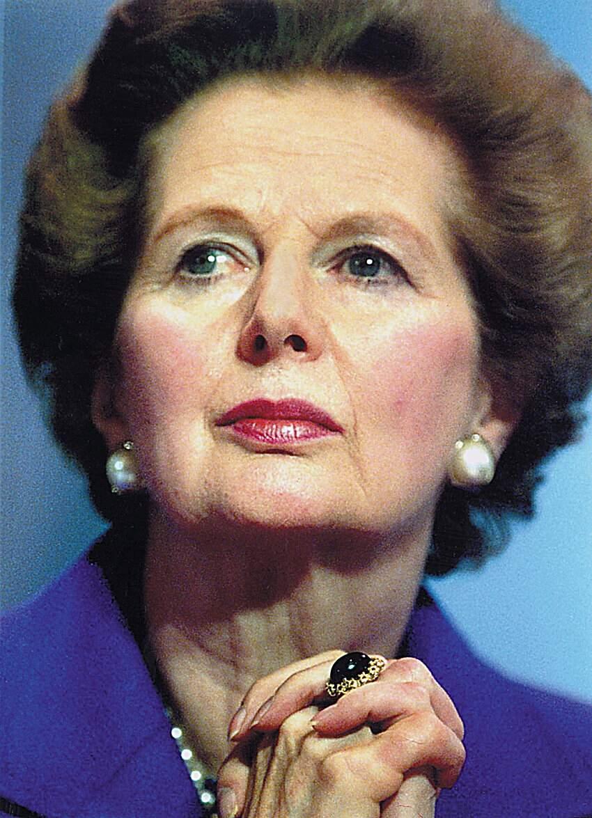 Falece aos 87 anos A ex-primeira-ministra britânica Margaret Thatcher