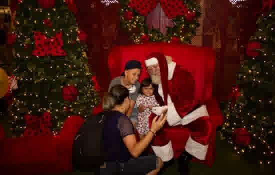 Papai Noel no Shopping ABC em 2018