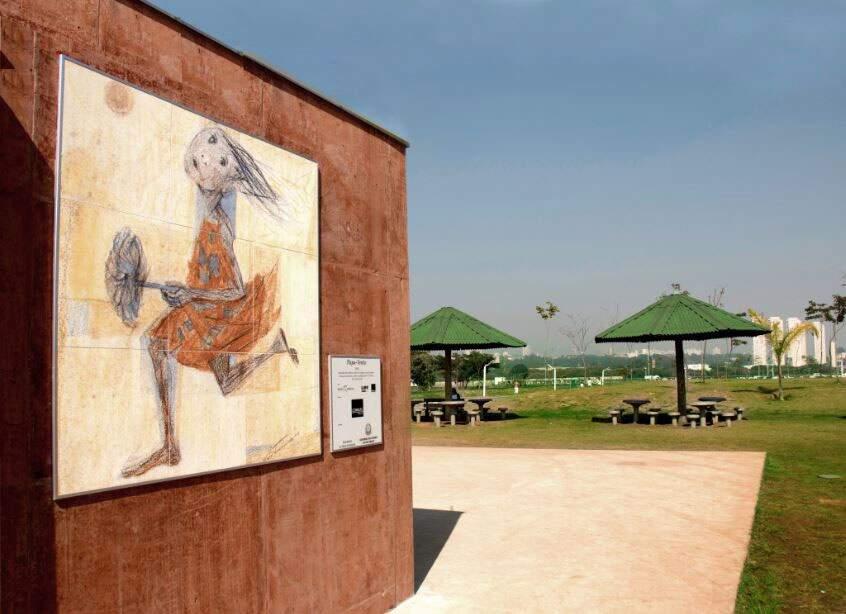 ViaRosa Porcelanato recria as obras do pintor de Brodowski com as mesmas proporções das telas originais