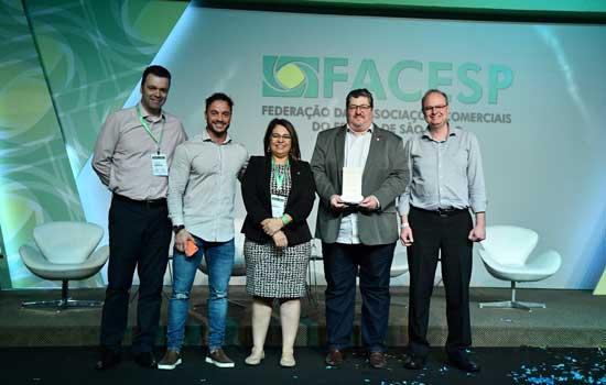 ACISA é premiada pela Federação das Associações Comerciais do Estado de São Paulo
