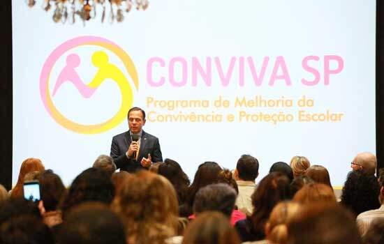 Conviva SP vai combater violência e melhorar convivência nas escolas estaduais de SP