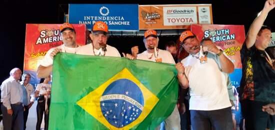 Após sete dias de disputadas acirradas, brasileiros completaram o SARR 2020