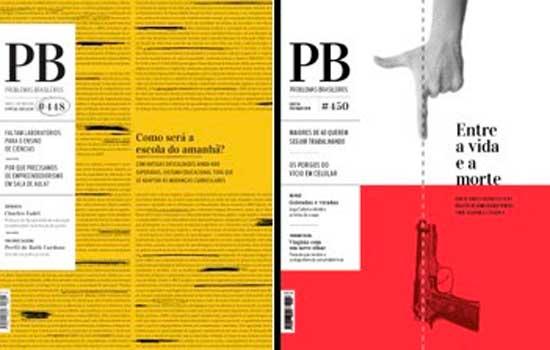 Revista Problemas Brasileiros vence etapa regional e é finalista do Prêmio Aberje 2019
