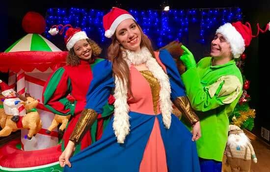 Shopping Granja Viana traz apresentação especial de Natal para domingo é dia de teatro