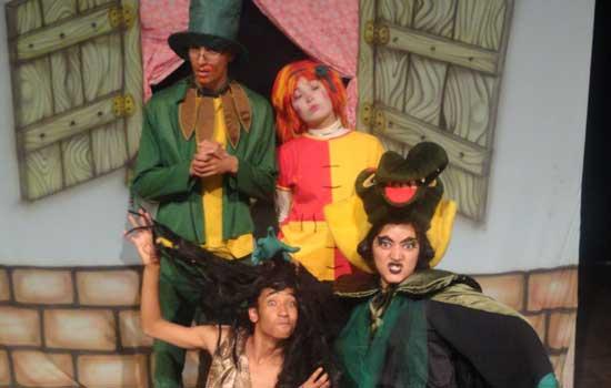Espetáculo O Sítio do Picapau Amarelo no Teatro Lauro Gomes