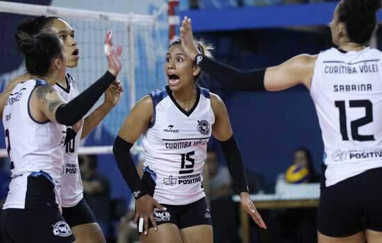 Superliga Feminina 19/20: Curitiba Vôlei passa pelo Pinheiros em sets diretos