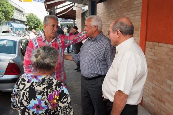 Paulo Pinheiro visitou o comércio do Bairro Santa Maria nesta quarta-feira