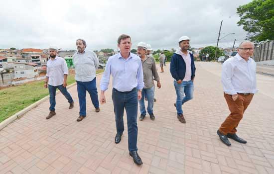 Implantação do 2° maior parque de São Bernardo avança e atinge 50% de obras concluídas