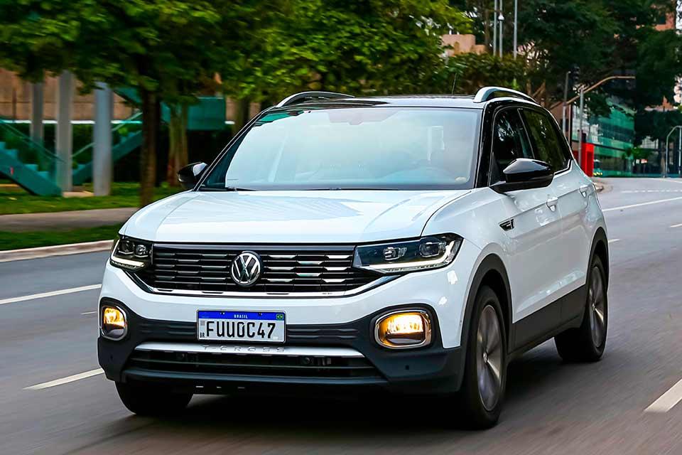Lançamento do Volkswagen T-Cross 2021