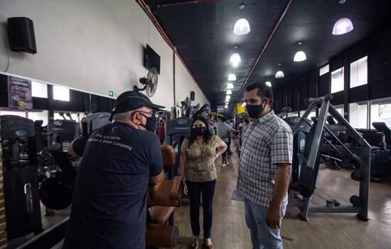 Prefeitura de Ribeirão Pires reforça fiscalização na reabertura gradativa das academias