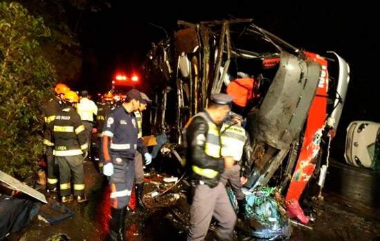 O acidente aconteceu no domingo, 9 de junho