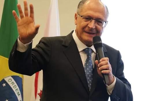O presidenciável do PSDB, Geraldo Alckmin
