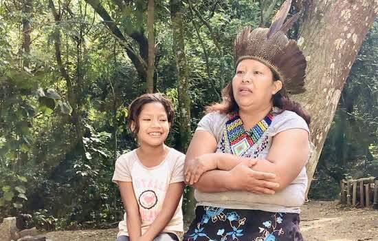 Aldeia360 realiza uma imersão cultural na aldeia Tekoa Itakupe, do povo Guarani Mbya,   localizada na região do Pico do Jaraguá, na cidade de São Paulo