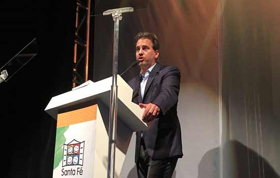 André Abucham, Presidente do Conselho de Apoio à Gestão da Santa Fé e Diretor Superintendente da Engeform, principal mantenedora da ONG