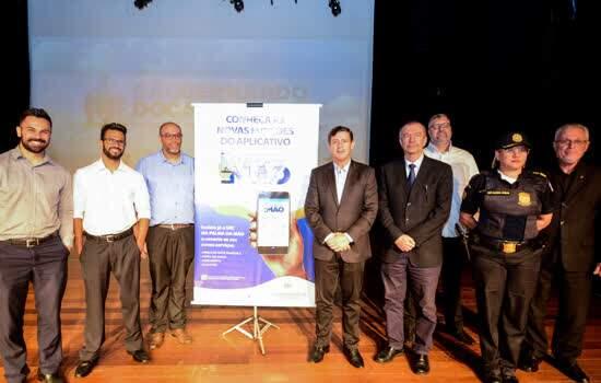 Prefeito Orlando Morando apresentou novas funcionalidades do programa