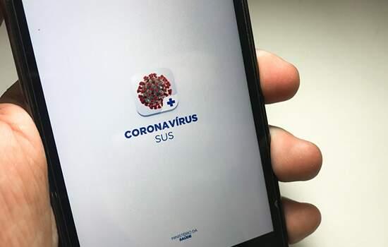 App do Sus envia alerta no caso de contato com pessos que testaram positivo para covid-19