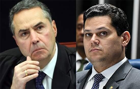 Barroso e Alcolumbre em embate sobre caso Bezerra