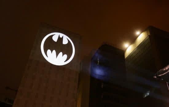 Bat-Sinal também foi projeto em São Paulo em 2019