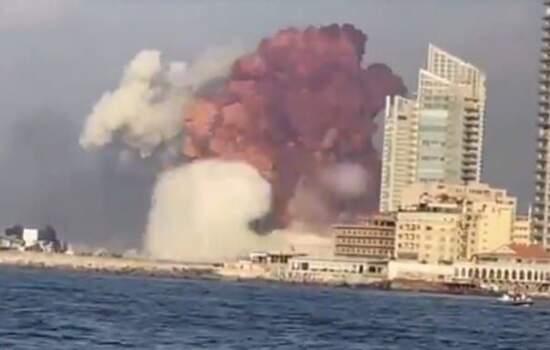 A eploxaõe deixou 25 mortos e mais de 2,5 mil feridos em Beirute