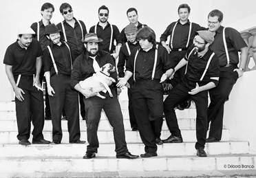 Projeto Big Band Blues se apresenta na estação Rio Verde