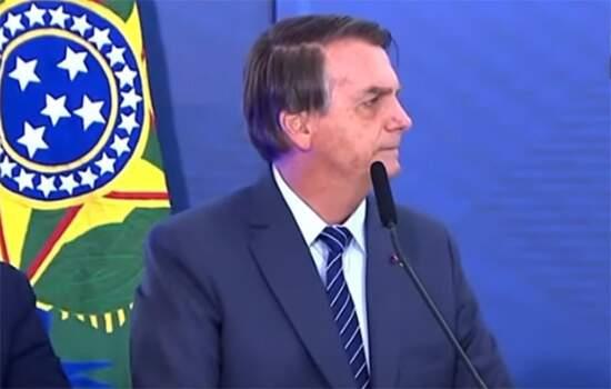 Bolsonaro mencionou teorias conspiratórias sobre o surgimento do coronavírus