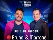 Eventos em Especial - Bruno e Marrone – Studio Bar Live